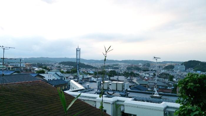 六浦の高台からの景色