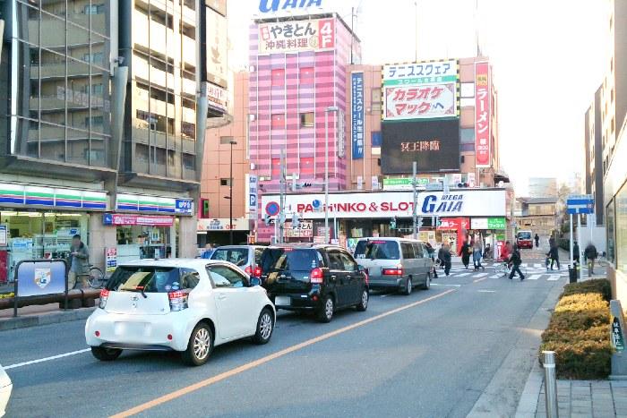 和光市の駅前