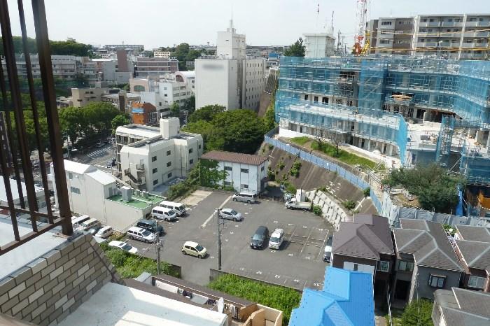横浜マンションからの景色